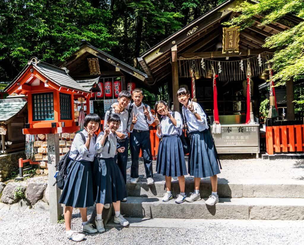 Japan School Children